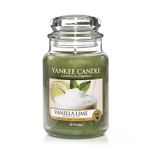 Yankee Candle Vanilla Lime House Warmer Jars