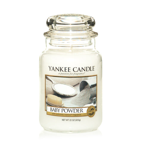 Yankee Candle Baby Powder House Warmer Jars