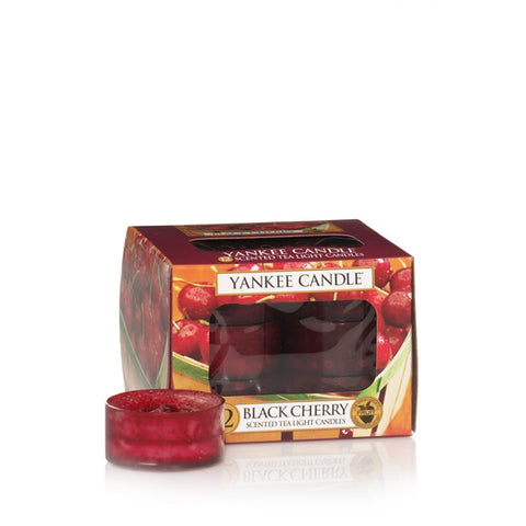Yankee Candle Black Cherry Tealights