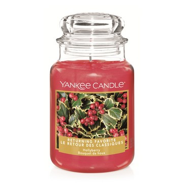 Yankee Candle Hollyberry Large Jar *US Exclusive*