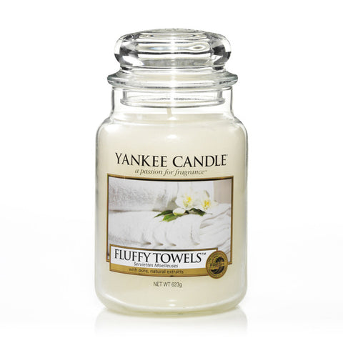 Yankee Candle Fluffy Towels House Warmer Jars