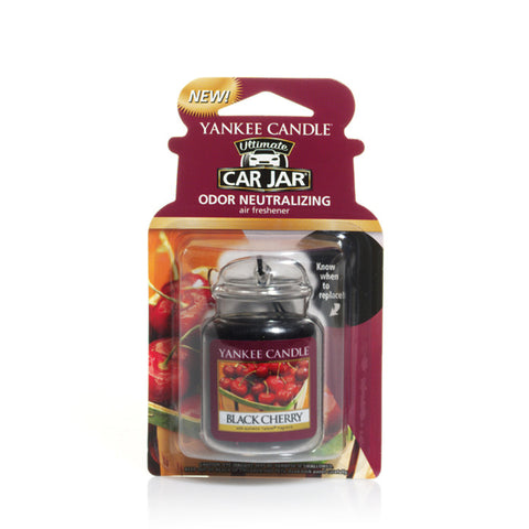Yankee Candle Black Cherry Ultimate Car Jar