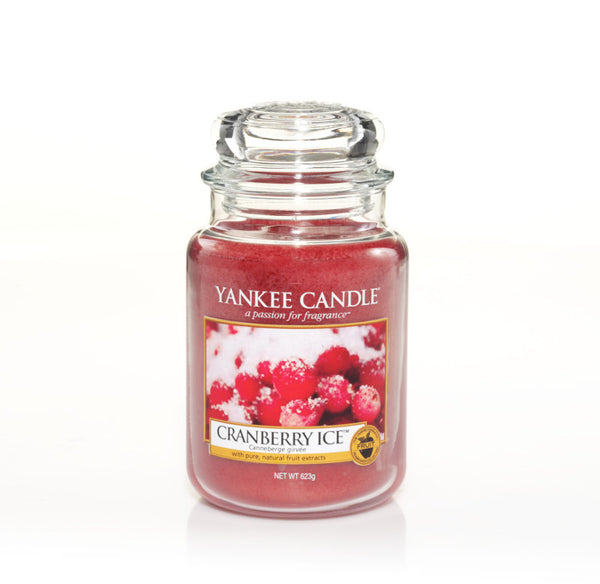 Yankee Candle Cranberry Ice House Warmer Jars