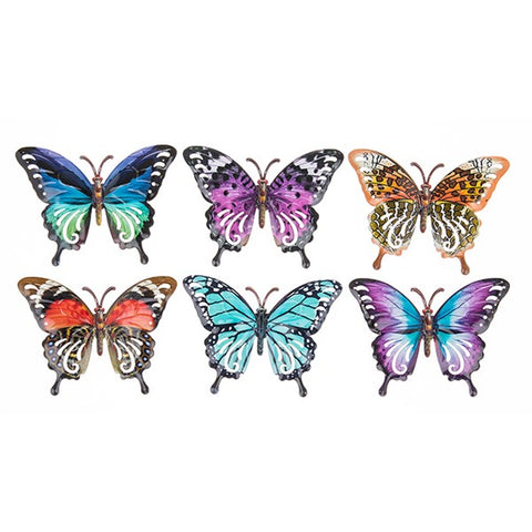 Bright Metallic Small Butterflies