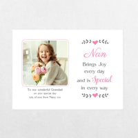 Creation Express Personalised Hanging Photo Plaque - Small Rectangle