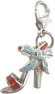 Bombay Duck Bow Shoe Charm