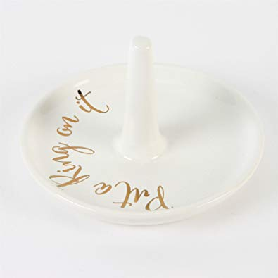 Always and Forever Ceramic Ring Holder  - Put a Ring
