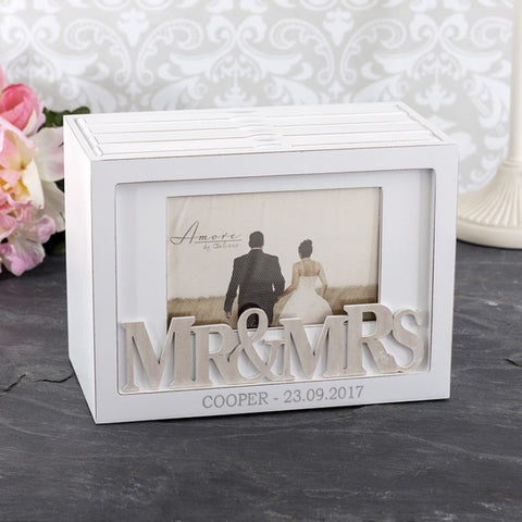 Amore  Mr & Mrs Photo Box