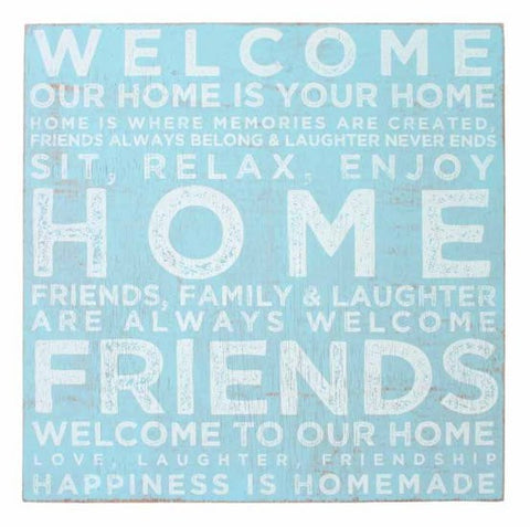 Splosh Seaside Welcome Sign 30x30