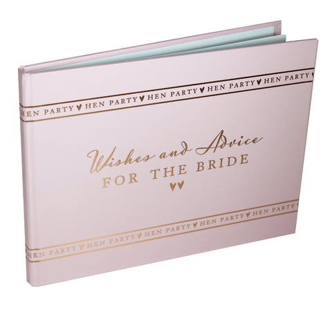 Amore  Hen Party Guest Book