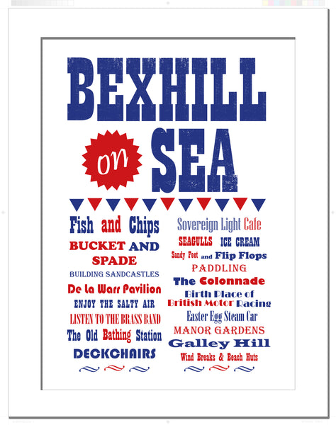 Bexhill on Sea - Art Print Poster
