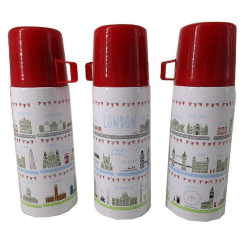 London Icons design Stainless Steel 350ml Flask