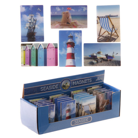 Seaside Sights 3D Magnet