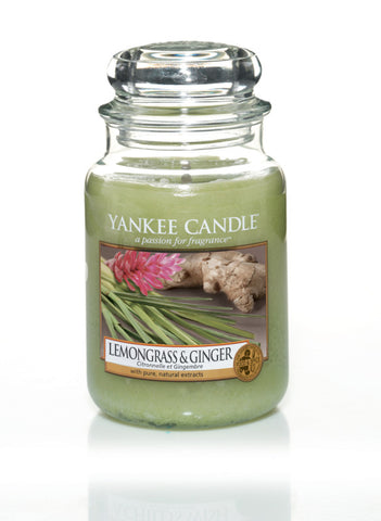 Yankee Candle Lemongrass & Ginger House Warmer Jars