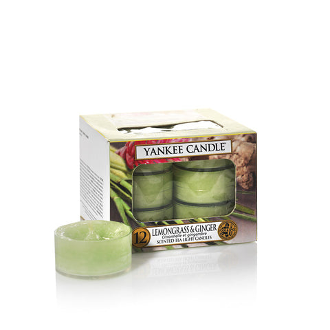 Yankee Candle Lemongrass & Ginger Tealights