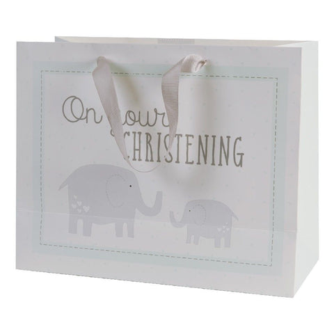 Petit Cheri 'Christening' Large Shopper Gift Bag