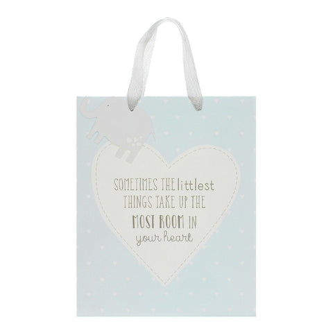"Petit Cheri ""Little Things"" Large Blue Gift Bag"