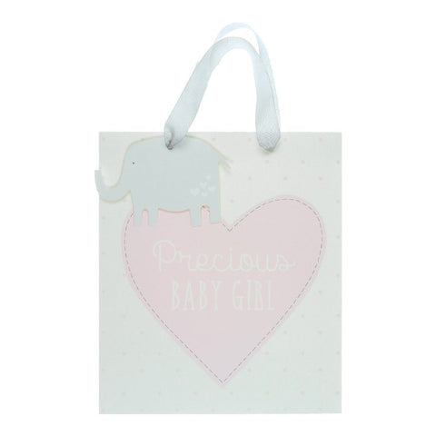 "Petit Cheri ""Precious Baby Girl"" Medium Gift Bag"