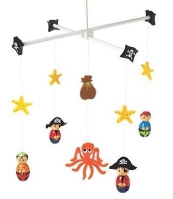 Orange Tree Toys Pirate mobile