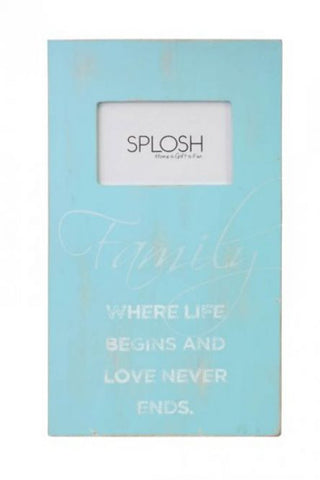 Splosh Seaside Family Frame