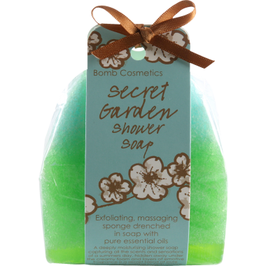 Bomb Cosmetics Secret Garden Shower Soap