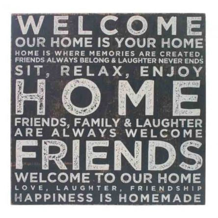 Splosh Vintage Welcome Sign 30 Square