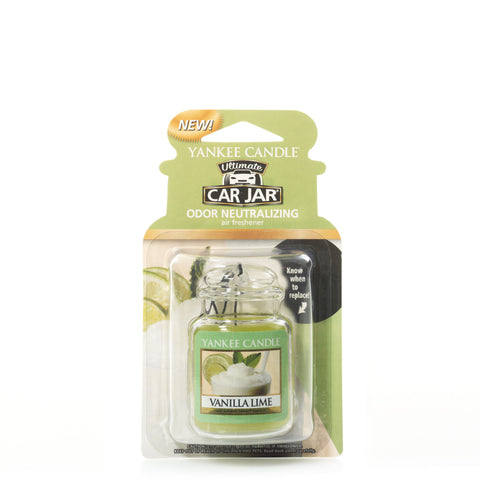 Yankee Candle Vanilla Lime Ultimate Car Jar
