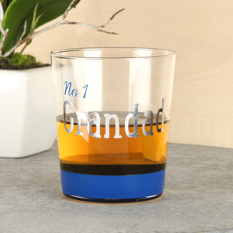 Wendy Jones Blackett Collection Whisky Glass No.1 Grandad