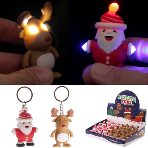 Christmas LED Keyring
