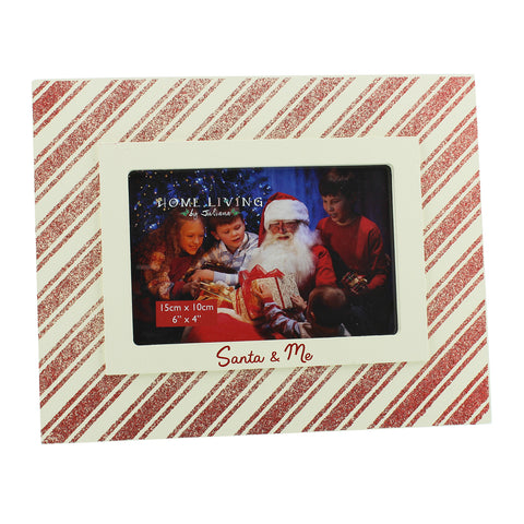 "Juliana Home Living MDF Photo Frame Santa & Me 6""x4"" Frame"