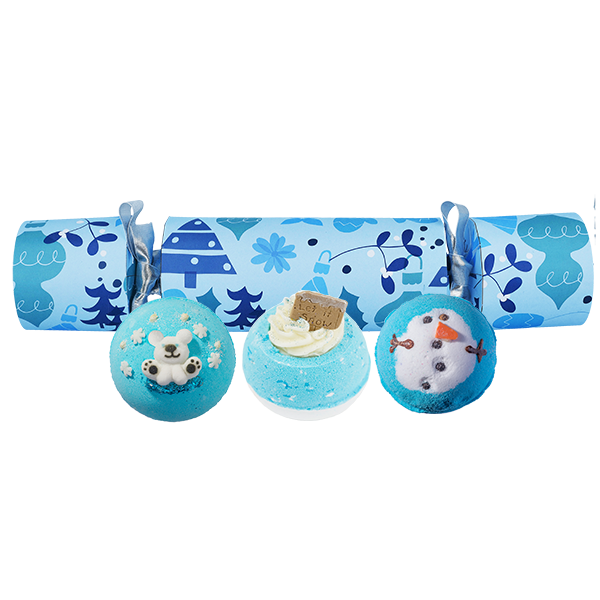 Bomb Cosmetics All I want for Christmas is Blue Cracker Gift Pack