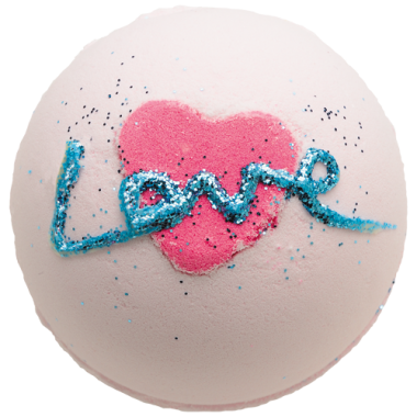Bomb Cosmetics All You Need Is Love Bath Blaster 160g