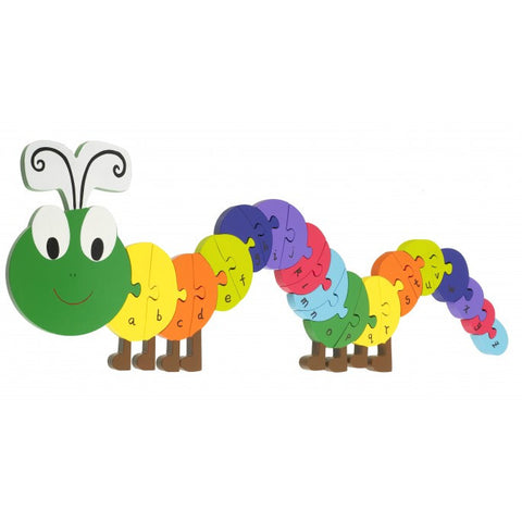 Orange Tree Toys Caterpillar Alphabet Puzzle