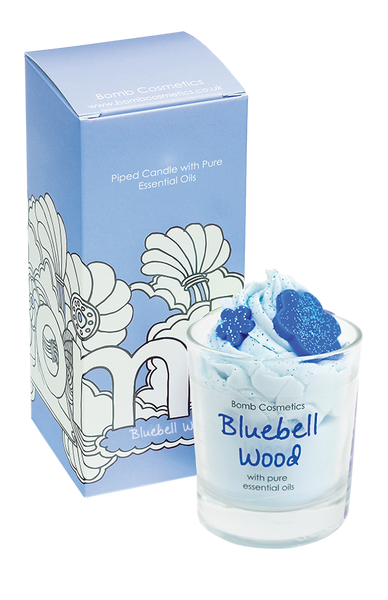 Bomb Cosmetics Piped Candle - Bluebell Wood