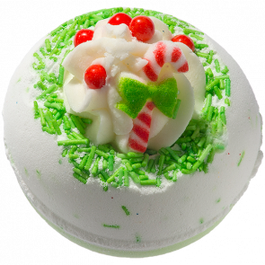 Bomb Cosmetics Candy Cane Lane Bath Blaster 160g