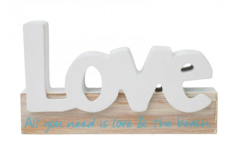 Splosh Seaside 'Love' Word