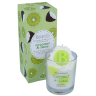 Bomb Cosmetics Piped Candle - Coconut & Lime