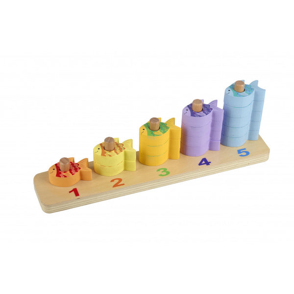 Orange Tree Toys Counting Fish Game