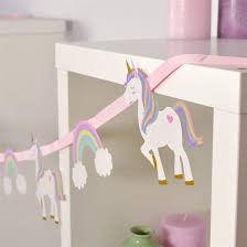 Unicorn Magic- Unicorn & Rainbow Bunting