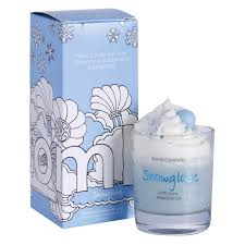Bomb Cosmetics Piped Candle - Snowglobe
