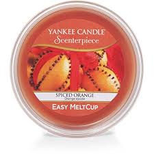 Yankee Candle Spiced Orange Scenterpiece Easy Wax MeltCup