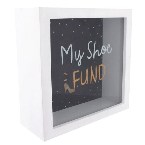 My Shoe Fund Box Frame Money Box