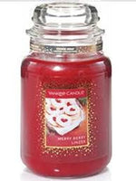 Yankee Candle Merry Berry Linzer House Warmer Jars
