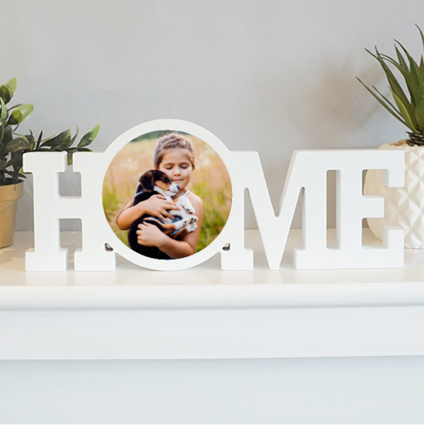 Creation Express Personalised Photo Block Word - Home