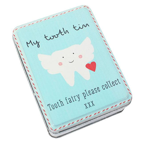 My Tooth Tin - Tooth Fairy Please Collect