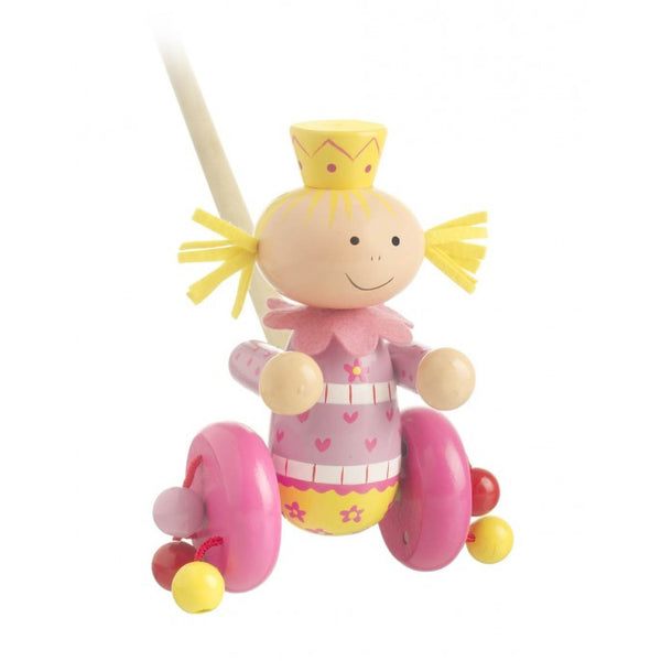 Orange Tree Toys Fairy Push Along
