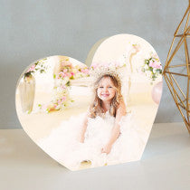 Creation Express Personalised Photo Block - Heart