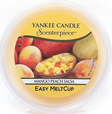Yankee Candle Mango Peach Salsa Scenterpiece Easy Wax MeltCup