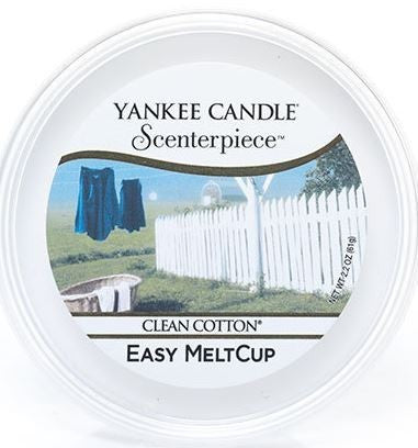 Yankee Candle Clean Cotton Scenterpiece Easy Wax MeltCup