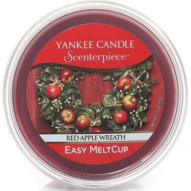 Yankee Candle Red Apple Wreath Scenterpiece Easy Wax MeltCup